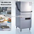 Ventes hot équipement de restaurant de type capot commerciaux. machine lave vaisselle