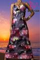 ANGELA-1224 mejor venta maxi vestido largo, galaxia