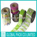Pvc thermorétractable étiquette pour bouteille en plastique de vente/thermorétractable film de pvc