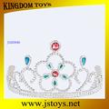 de juguete de plástico coronas de la tiara