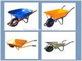 De metal de la rueda berrow, carretilla de la mano, jardín y herramientas agrícolas