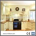 de estilo italiano de arce ranurado shaker gabinete de cocina
