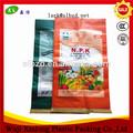 polipropileno tejido de saco de fertilizantes saco de embalaje de fertilizantes bolsa de 25kg