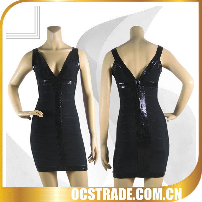 2014 vestidos de festa preto sem mangas prom