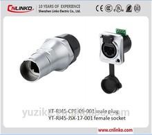 ce mini usb pin 8 vertical rj45 conector