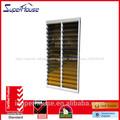 2014 venta caliente de alta evaluación del louvre de aluminio ventanas