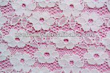 100% cordón de poliéster trim/vestidos de encaje guipur trim