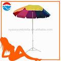 170cm*8k color del arco iris de encaje de paraguas jardín