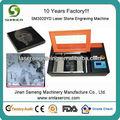 Desktop portátil co2 laser imagem de pedra máquina de gravura com sm-3020 300*200mm arera