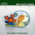 Nuevos espacios en blanco de la sublimación/subimation mdf marco de fotos