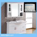 Branca móveis de pvc celuka board/armário de banheiro do pvc placa de espuma