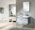 Açoinoxidável 201 parede- montado armário de banheiro sbc-8013