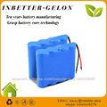 La venta caliente li ion paquete de baterías/litio recargable Batería/Batería de Ion Litio