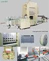 Desechables de papel de aluminio contenedor haciendo mahin ctjy- 80t