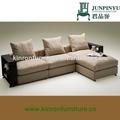 fuerte diseño moderno tapicería de sofá de la tela mobiliariodesala