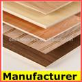 El mejor precio del okoume/bintangor/lápiz cedro/de madera dura de color rojo de madera contrachapada comercial
