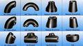 acero al carbono sin costura gas y accesorios de tubería de petróleo