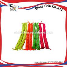 fabricante de taiwan hecho rizado en espiral elástico cordones de los zapatos