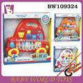 B/o de instrumento musical de órgano electrónico, bebé juguetes de plástico, niño piano juguetes