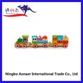 de madera wv0444 panda tren de ferrocarril de madera de juguete mini tren thomas tren de juguete