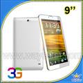 MTK6572 Dual SIM 9 pulgadas 3 G WCDMA850/2100 Mhz teléfono tableta Low Cost