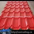 telhas efeito telha de zinco