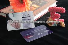 tarjeta de plástico