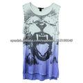 camiseta personalizada ropa al por mayor de moda de verano china