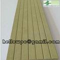 de plástico de madera del piso