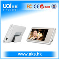 Presente da promoção de loja de exibição, vídeo digital tag nome vnt-1000 com 4gb memória flash, a propaganda, mostrando