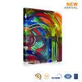 Fácil imagen en color de bricolaje de la pintura abstracta de la lona