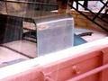 infra rouge électrique four en verre
