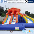 agua inflable diapositiva diapositiva inflable con piscina