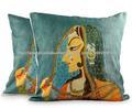 2014 nuevo diseño cojines y almohadas indios directo de Fábrica