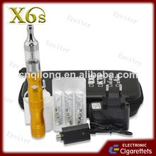 venta al por mayor 2013 mejor vendedor cigarrillo electrónico x6s ecig con precio bajo