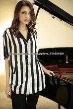 blusa de moda de señora tira