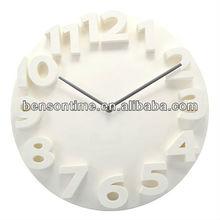 3d reloj de pared, reloj moderno