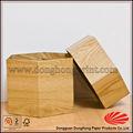 forma de diamante de juguete de madera de embalaje caja de cartón