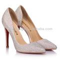 zapatos de tacón alto mujeres de la moda de cristal de gran tamaño 2013 para la fabricación de la venta más caliente