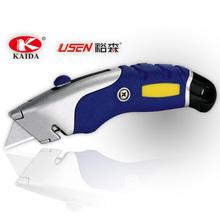 auto retráctil de utilidad cuchillo cortador con 5 piezas cuchillas de repuesto