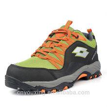 acción 2014 mejor los hombres de cuero de senderismo de montaña zapatos
