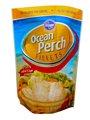 colorido impreso de pie bolsas, bolsas de alimentos congelados, bolsa de comida al mar