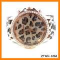 Cuero de la PU atractiva del partido del reloj del leopardo ZTWH-3268