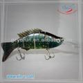 hermoso color swimbait vivo señuelo de la pesca al por mayor de china