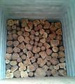 de alta calidad de madera de teca registros