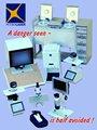 El aparato helmintologico con microprocesador de control