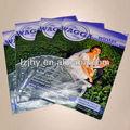 colorido rústica revista de impresión de libros con alta calidad
