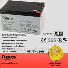 La batería de almacenamiento/recargable batería 12v12ah