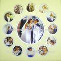 Junta de montaje en varios colores para cumpleaños frame\loving foto de marco de imagen con diseños de lujo