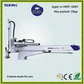 5 axistelescopic el brazo robot de ahorro de mano de obra del cnc el brazo robot et2500s5